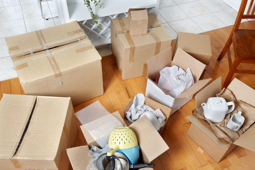 بسته بندی بار و اثاثیه منزل
